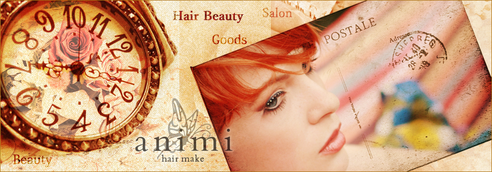 animi hair make WEBサイト